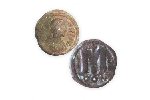 находки на монети в региона на писаната църква