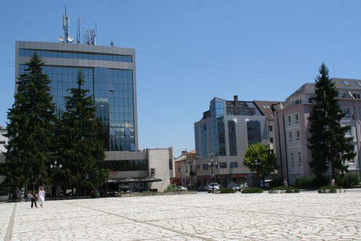 central square Razlog