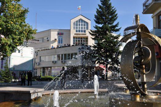 fountain in Razlog