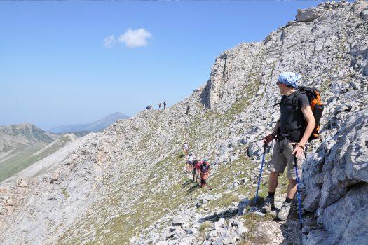 mountain hikes