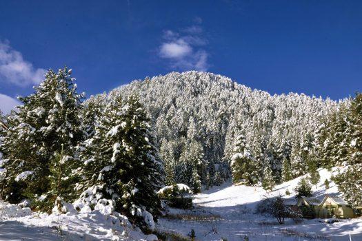 snow slopes in Pirin