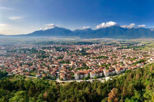 panoramic view of Razlog